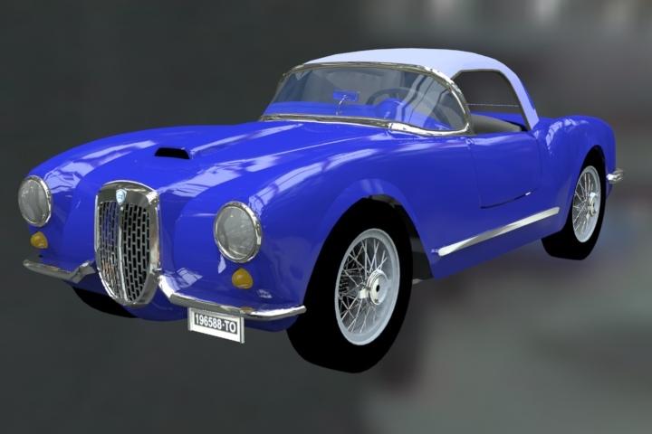 Lancia Aurelia B24 Spider-1